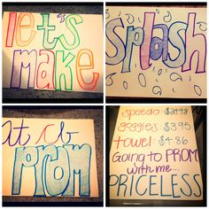 How I plan on asking Matt to prom this week! So excited :)