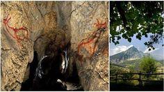 Las cuevas prehistóricas más espectaculares de #covalanas #cantabria #España