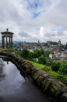 Overcast skies did little to dampen the beauty of Edinburgh, Scotland.