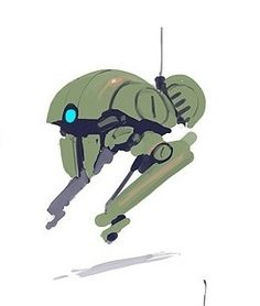 Drone Familiar, scout, robot, flying