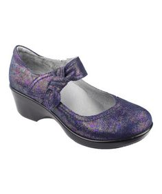 Another great find on #zulily! Violet Sea Essence Ella Leather Mary Jane Pump by Alegria #zulilyfinds