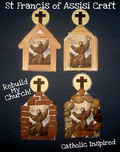 Catholic Inspired ~ Arts, Crafts, and Activities!: St. Francis of Assisi Craft {Plus, a few thoughts on our new Pope}