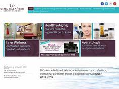 The website gemacabanero.com courtesy of @Pinstamatic (http://pinstamatic.com)