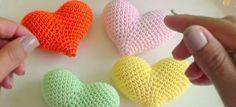 Cómo hacer corazones a crochet | Aprender manualidades es facilisimo.com