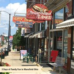 3 Days of Family Fun in Mansfield Ohio