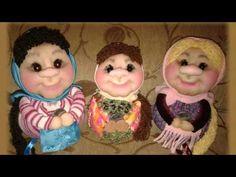 Авторские работы Валентины Третьяк текстильная чулочная кукла, вышивка лентами и многое другое - YouTube