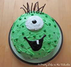 Cute Monster Cake