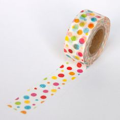 Colourful Dots Washi Tape by Masté
