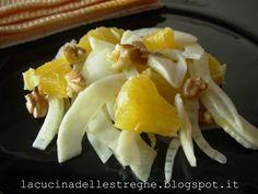 Insalata di arance, finocchi e noci