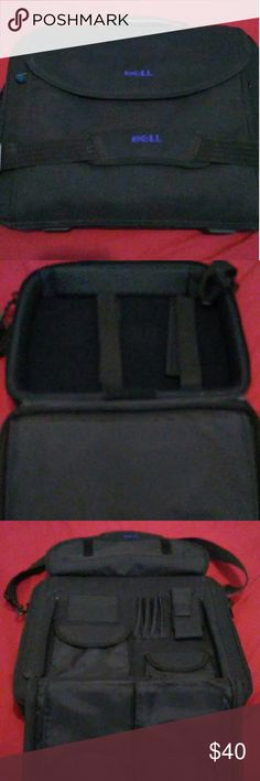 Dell laptop bag Dell laptop bag great conditions lots of compartments dell Bags Laptop Bags