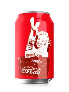 Varga Girls Coke cans, commemorating 125 years of Coke.