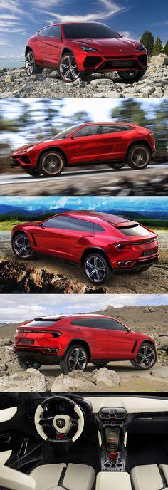 2012 Lamborghini Urus / concept / red / Italy