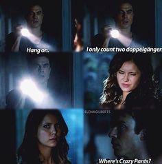 The Vampire Diaries Vampire Diaries Season 5, Vampire Diaries Wallpaper, Vampire Diaries Damon, Vampire Diaries Quotes, Vampire Dairies, Vampire Diaries The Originals, Crazy Pants, Original Vampire, Book People