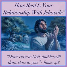 """How Real Is Your Relationship With Jehovah? Communication strengthens any relationship. How can you apply this principle in your relationship with God? ♥•.¸¸.•♥ JW.org > Publications > Magazines > The Watchtower (Study Edition) April 2015, """"How Real Is Your Relationship With Jehovah?"""" ༺♥༻ JW.org has the Bible and study aids to read, watch, listen and download in 700+ (sign included) languages. Also home bible studies. Plus now TV.JW.org and all at no charge."""