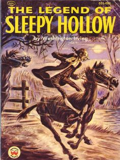 Legend of sleepy hollow book age appropriate