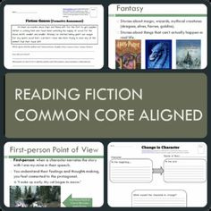 This complete unit includes a Powerpoint,  worksheets, and assessments that clearly teach students about the various points of view in fiction, how to recognize genres, identify the theme in a story, and finally how to observe how and why characters change in fiction. Throughout the Powerpoint presentation the students are given interactive class quizzes and turn and talk tasks.