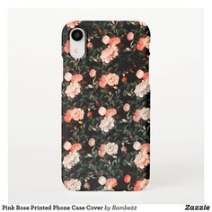 Shop Pink Rose Printed Phone Case Cover iPhone 11 Case created by Personalize it with photos & text or purchase as is! Pink Phone Cases, Cool Phone Cases, Iphone Cases, Iphone 11, Apple Iphone, Wallpaper, Printed, Rose, Amazing