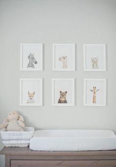 One Room Challenge :: Week 1 - A Neutral Nursery