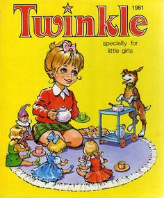 Twinkle Annual 1981 - happy memories of sleepovers at nanny's
