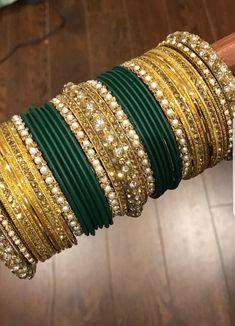 Pakistani Jewelry, Indian Wedding Jewelry, Indian Jewelry, Bridal Bangles, Bridal Jewelry, Bangle Set, Bangle Bracelets, Hand Jewelry, Jewlery