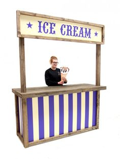 Ice Cream Food Stall | Grease Theme | Event Prop Hire