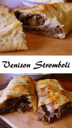 Venison Stromboli – Deer Recipes – Venison Sausage Recipes – Famous Last Words Venison Sausage Recipes, Ground Venison Recipes, Crockpot Recipes, Cooking Recipes, Deer Meat Recipes Ground, Cooking With Venison Sausage, Easy Dinner Recipes With Venison, Recipes With Venison Burger, Recipes With Deer Sausage