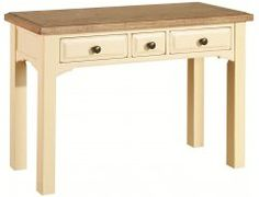 Cheetham Rich Country Cream Dressing Table