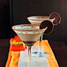 "Peanut Butter Cup Martini  www.LiquorList.com  ""The Marketplace for Adults with Taste"" @LiquorListcom   #LiquorList"