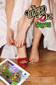 Tap your toes twice, download The Wizard of Oz Slots and say there's no place like home. Relive the magic on your tablet and discover a dozen ways to win big when you play The Wizard of Oz Slots. From unbelievable free spins, a variety of amazing mini games and stunning dual reels, this is Vegas slots in the Emerald City. Download the game on iOS or Android today and follow the yellow brick road to riches today.