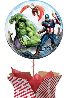 This Marvel Avengers Helium Balloon is delivered filled with helium in a huge stripy box and is to be a great surprise on occasions such as get wells and birthdays. Arrange your Avengers balloon gift delivery online for fast UK delivery. Balloon Box, Balloon Gift, Helium Balloons, 10th Birthday, Gifts For Boys, Marvel Avengers, Christmas Bulbs, Birthdays, Teddy Bear