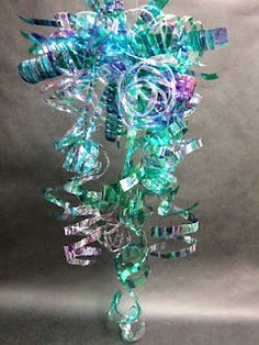 5th Grade Dale Chihuly Inspired Chandeliers