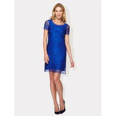 Buy Damsel in a dress Hawaii Lace Dress, Blue Online at johnlewis.com
