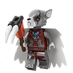 LEGO Chima 70011 - Worriz Minifigure #LEGO