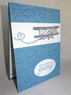 features Stampin' Up! Sky is the Limit stamp set available during sale-a-bration