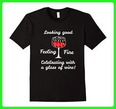 Mens Funny Wine Birthday Gifts for Women 30, 40, 50, 60, 70 Tee XL Black - Food and drink shirts (*Amazon Partner-Link)