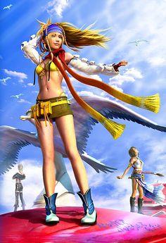 Final Fantasy X2: Lo tengo sin terminar. Por alguna razón no se habían realizado segundas partes de los FF...xd