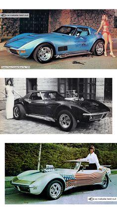 1969 Corvette, Corvette Summer, Chevrolet Corvette, Chevy, Pink Volkswagen Beetle, Cool Car Pictures, Weird Cars, Fancy Cars, Unique Cars
