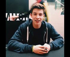 IMAGINE Shawn sees you for the first time and gives you this look