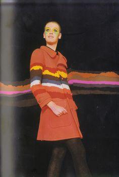 1969 - Ungaro coat by Peter Knapp