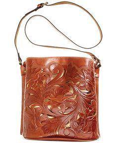 Patricia Nash Tooled Lavello Sling - Patricia Nash - Handbags & Accessories - Macy's
