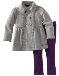 Calvin Klein Baby-girls Infant Jacket with Pant