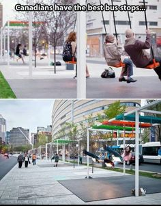 I want a bus stop like this!