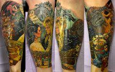 New Ideas games tattoo drawings Great Tattoos, Beautiful Tattoos, Game Tattoos, Amazing Tattoos, Tatoos, Labyrinth Tattoo, Labyrinth Movie, Tattoo Drawings, I Tattoo