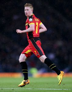 Kevin de Bruyne of Belgium National Team
