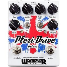 Wampler Plexi-Drive Deluxe British Distortion Effects Pedal