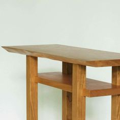 Merveilleux Solid Statement Table | A Narrow Table | Pinterest | Entry Tables, Wood  Table And Modern Wood Furniture