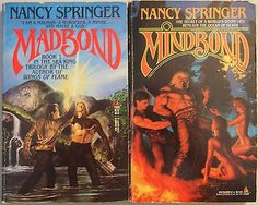 awesome Madbond & Mindbond by NANCY SPRINGER Sea King 1-2 Fantasy Paperback Lot of 2 - For Sale View more at http://shipperscentral.com/wp/product/madbond-mindbond-by-nancy-springer-sea-king-1-2-fantasy-paperback-lot-of-2-for-sale/