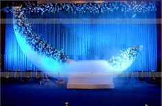 Decors - Wedding Stage Decorators In South India, We… Wedding Hall Decorations, Marriage Decoration, Backdrop Decorations, Backdrops, Floral Decorations, Wedding Cards, Wedding Events, Farm Wedding, Wedding Table