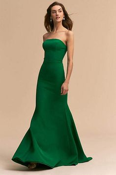 Gorgeous Emerald Dress! Anthropologie Tess Wedding Guest Dress #anthropologie #anthrofave #anthrohome #emerald #dress #dresses #ad