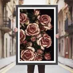 Placa decorativa floral - StickDecor | Decoração Criativa